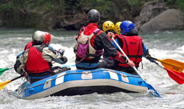 Rafting, Hydrospeed, Kayak