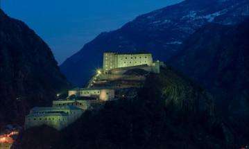 Castelli della Valle d'Aosta e il Forte di Bard