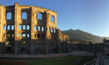 Aosta città Romana